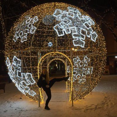 V Púchove počas Vianoc