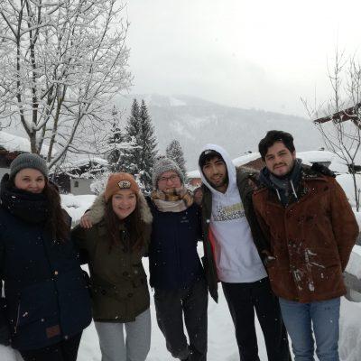 Volunteer international team