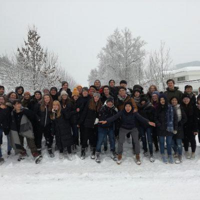 Výmenní študenti v Rakúsku