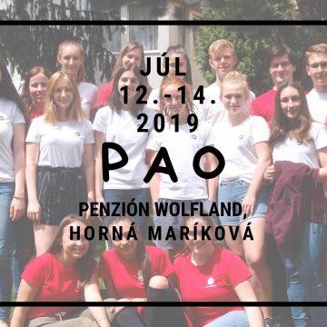 Popríjazdový seminár PAO 2019