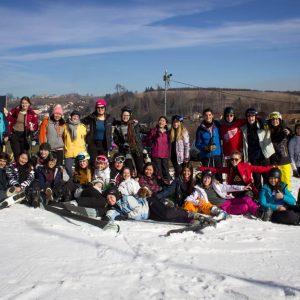 Na Polročnom lyžiarskom seminári s YFU CZ v Česku