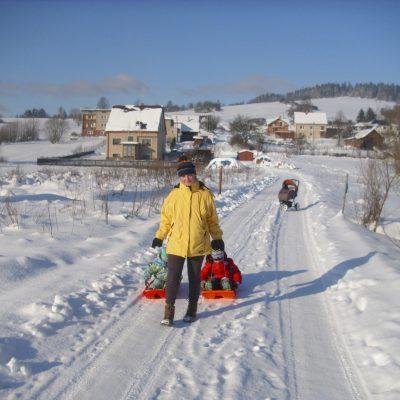 Zima na Kysuciach